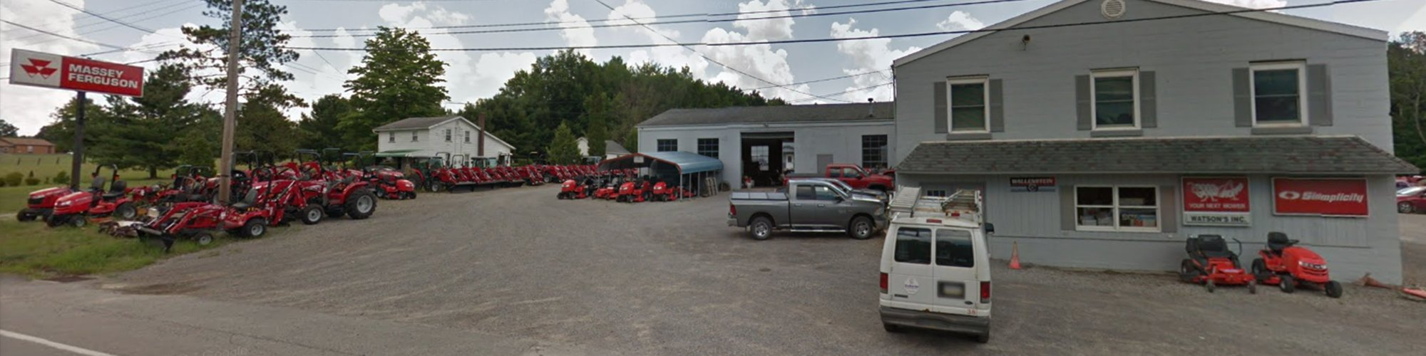 Watson's Inc    Hermitage, PA   New and Used Agriculture and